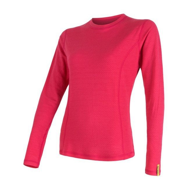 triko double face merino wool magenta XL