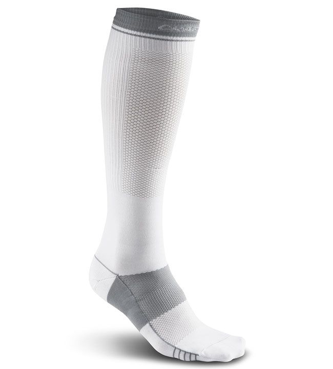 compress body control sock white 41-44