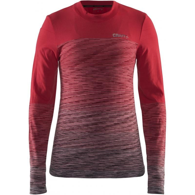 triko wool comfort 2.0 CN poppy/Dk gre S
