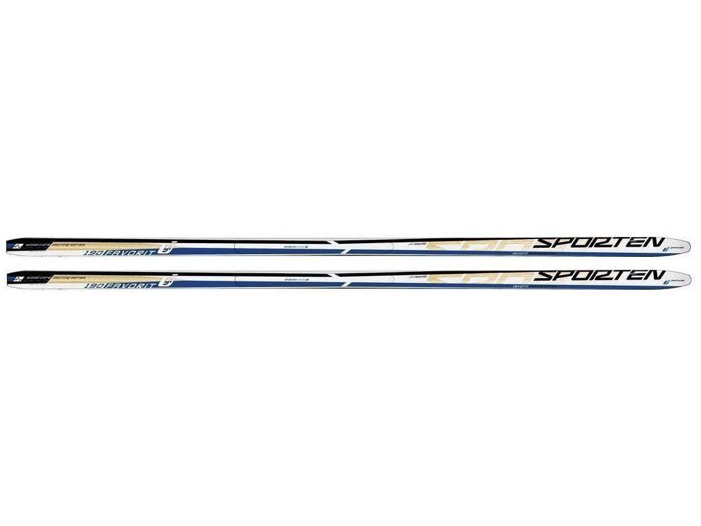 běžky Sporten Favorit modrý Wax 195 cm