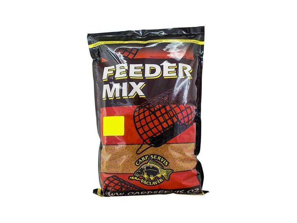 Václavík Feeder Mix černý kapr 1kg