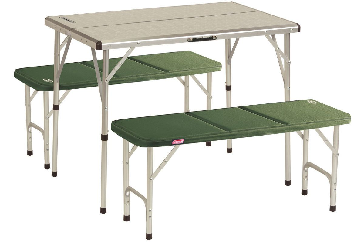 kemp. set PACK AWAY TABLE FOR 4