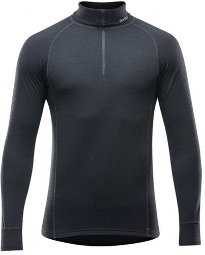 triko duo active zip neck black M