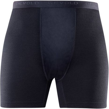 duo active man boxer w/windstopper black XXL