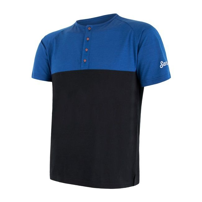 triko merino air pt blue/black M